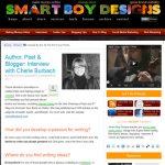 Cherie Burbach at Smart Boy Designs