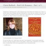 Cherie Talks Internet Dating and Real Life Romance