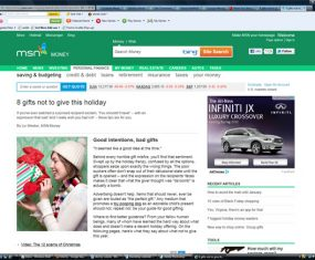Quoted in MSN Money Article