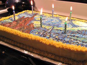 Starry Starry Night Cake