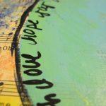 Mixed Media: Faith Love Hope Joy