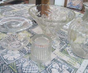 Clear Glass Sculpture