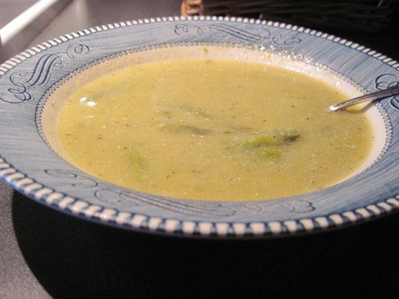asparagas-soup