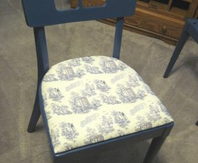Dr. Who Toile Chair Makeover
