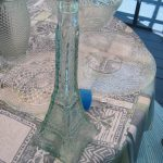 Glass Eiffel Tower Sculpture