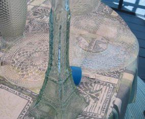 Glass Eiffel Tower Sculpture