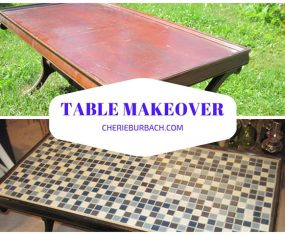 Tile Coffee Table Redo