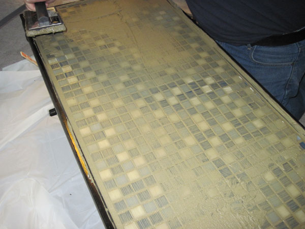 table-grouting