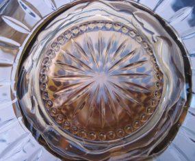 Gold Glass Solar Light Sculpture
