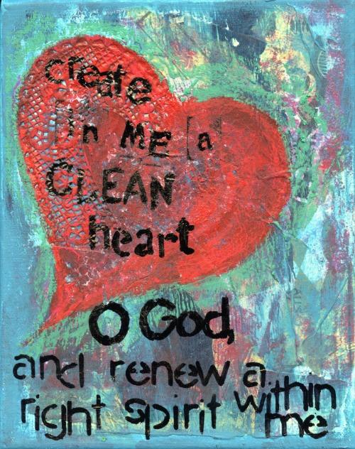 create in me a clean heart web