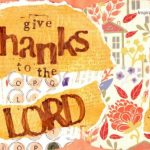 Postcard: Thanks to the Lord