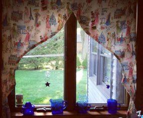 Cute Paris Curtains