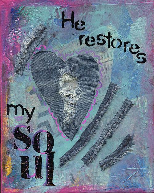 he restores my soul cherie burbach 500