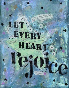 let every heart rejoice500