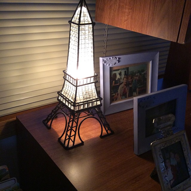 New lamp for the office.