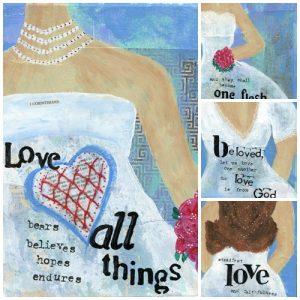 weddings collage
