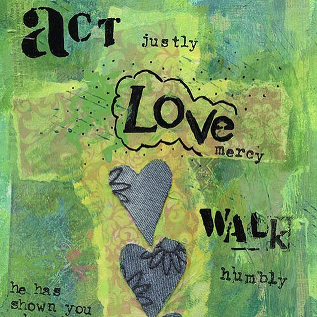 Act justly, love mercy, walk humbly...a new print available from my etsy store http://etsy.me/1wZNJNr #bible #christianart #faith #micah