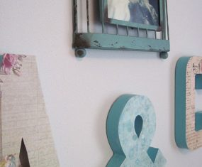 Alphabet Letters and Picture Wall