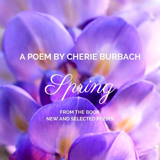 a poem by cherie burbach