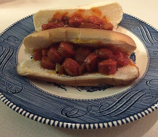 Hot Dogs a la Me