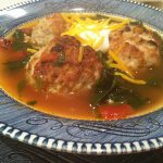 Because Pork and Rice Meatball Soup Makes Everyone Happy
