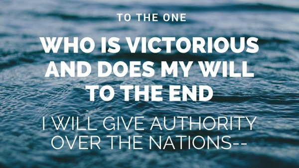 the one who is victorious