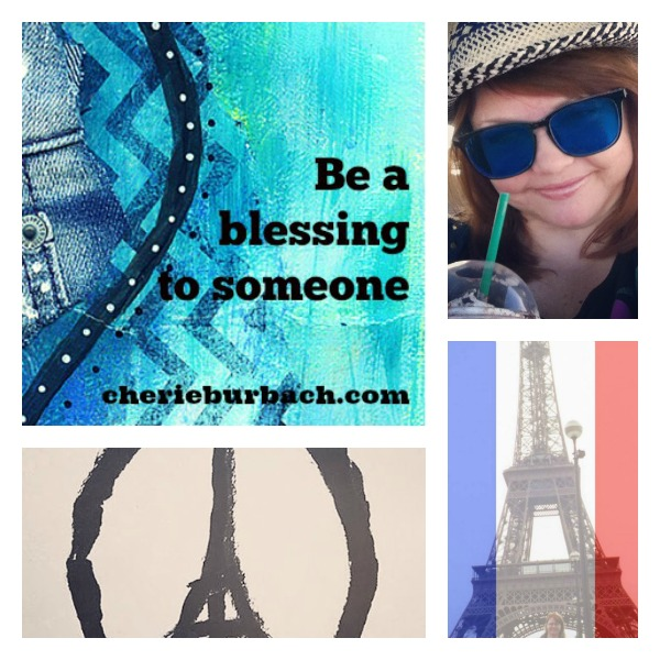 be a blessing collage