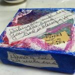 Mini Canvases With Pictures and Notes