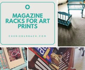 More Magazine Racks to Hold Art Prints