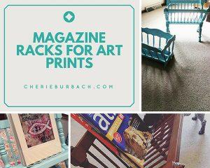 More Magazine Racks to Hold Art Prints