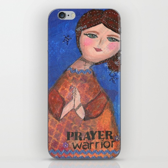 Prayer Warrior iPhone Cover
