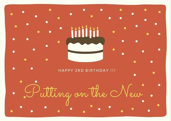 happy 3rd birthday !!!
