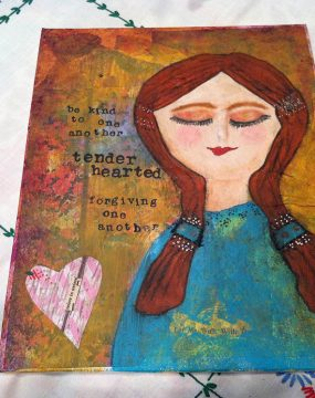tenderhearted original by cherie burbach