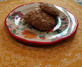 Potato Chip Cookies With Sunflower Seeds