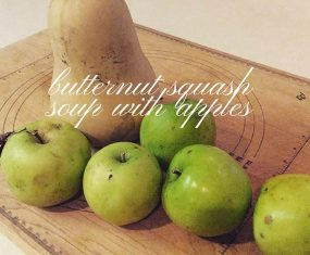 Butternut Squash, Apples, and Neighborly Love