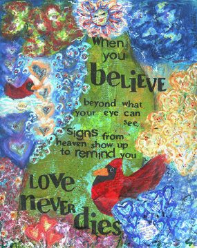 signs from heaven Archives - Cherie Burbach