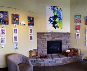 My Art Up at Glas Coffee