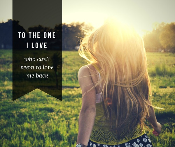 to-the-one-i-love
