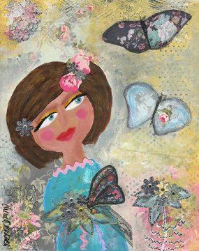 butterflies by cherie burbach