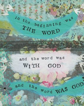 in the beginning was the word by cherie burbach