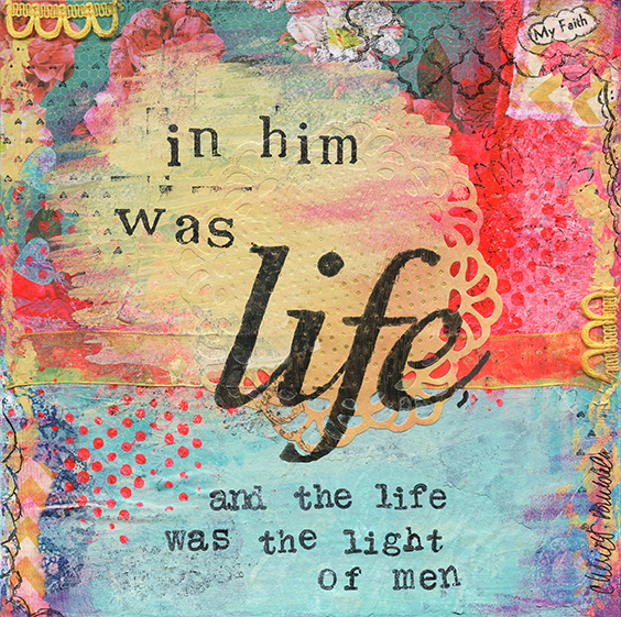 my faith - in him was life by cherie burbach