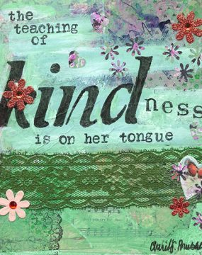 the teaching of kindness by cherie burbach