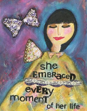 she embraced every moment cherie burbach