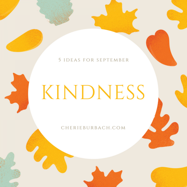 September Kindness Ideas