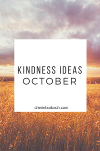 October Kindness Ideas