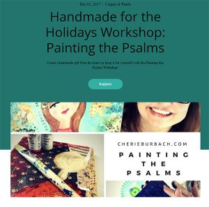 Painting the Psalms at Copper and Pearls