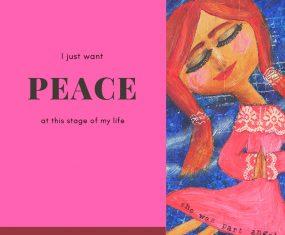 I Just Want Peace