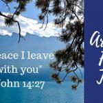 John 14:27 – Art and Faith Talks