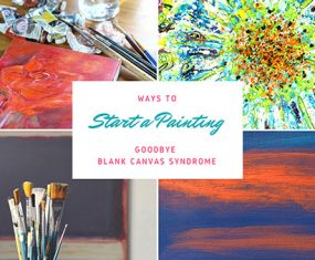 No More Blank Canvas Syndrome