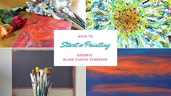 No More Blank Canvas Syndrome
